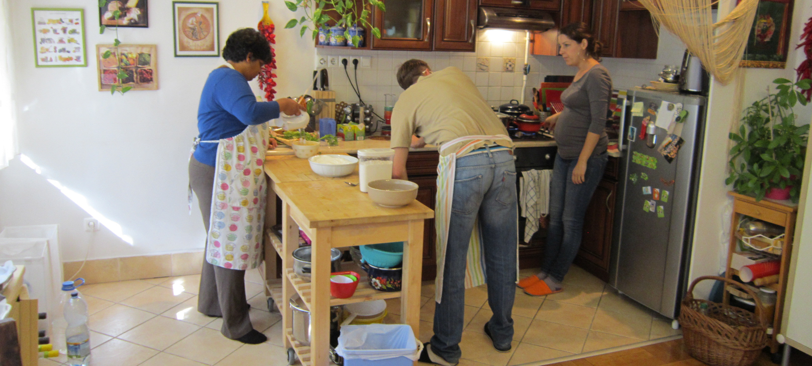 Culinary Hungary Classroom - photo by Glenn D. Kaufmann