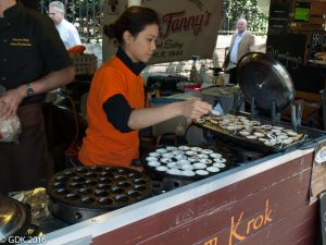 Khanom Krok Thai Food - Borough Market, London