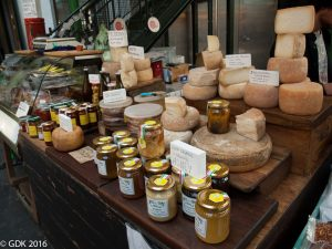 Cheese & Honey at Borough Market