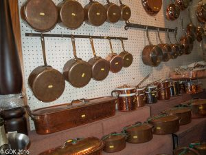 Copper Cookware at E. Dehillerin in Paris