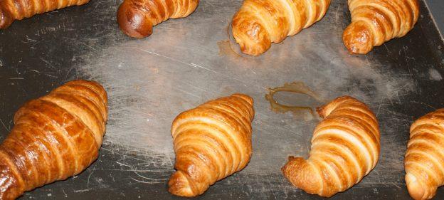 Fresh Homemade Croissants in Paris