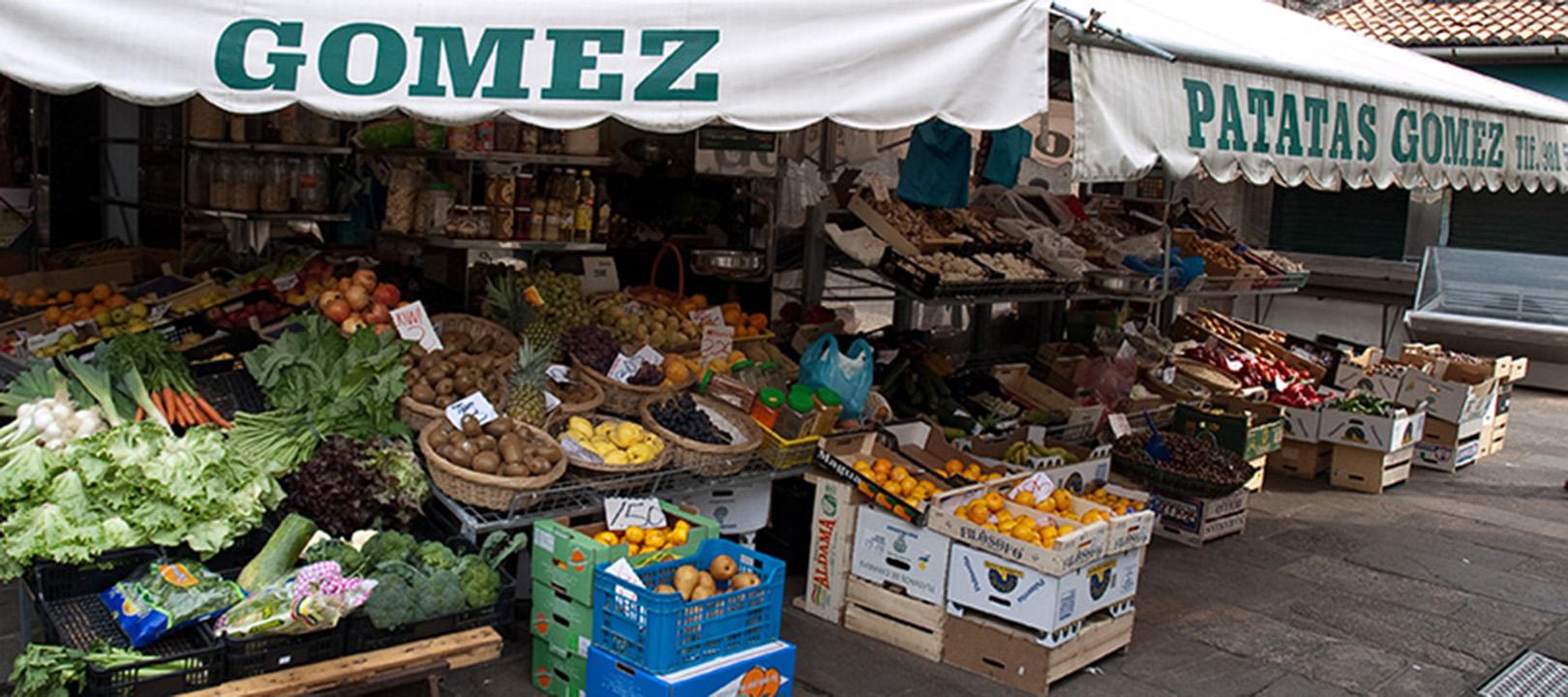 Local Food Market, Santiago de Compostela, Spain