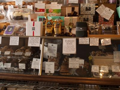 Formaggio's Chocolate Counter