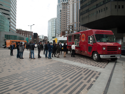 Food Trucks Serve Locals and Travelers On Boston's Greenway