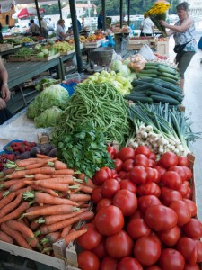 Market Vegetables in Gruž