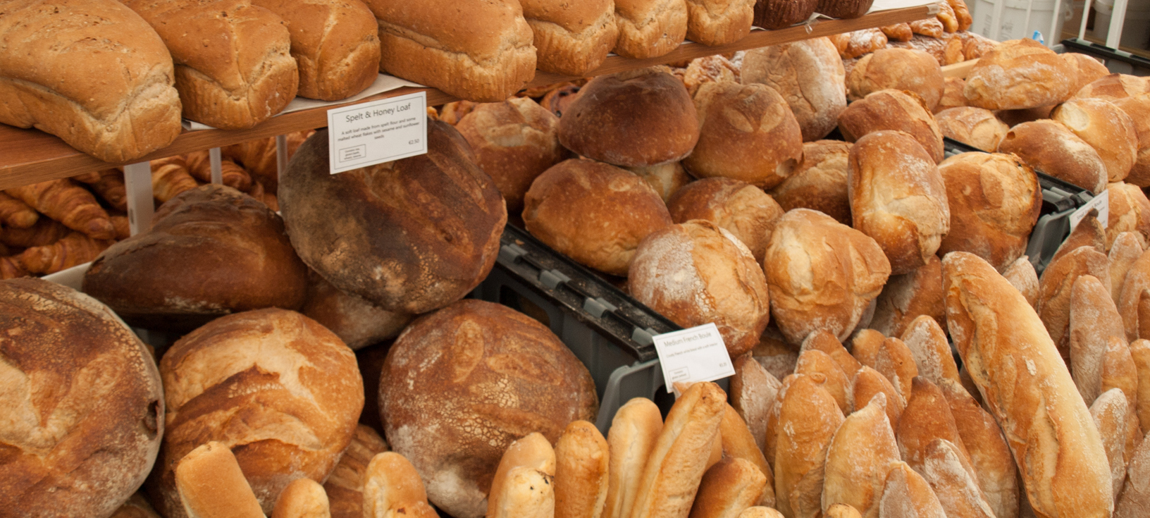 Fresh Bread at the Milk Market in Limerick