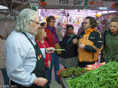 Paella Class in Valencia's Central Market