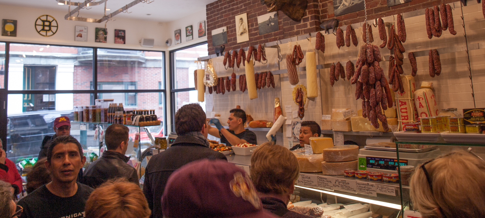 Monica's Mercato & Salumeria in Boston's North End - photo by Glenn D. Kaufmann