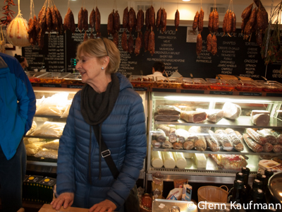 Michele Topor Leads Her North End Market Tour