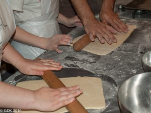 Leraning to Roll Pastry Dough