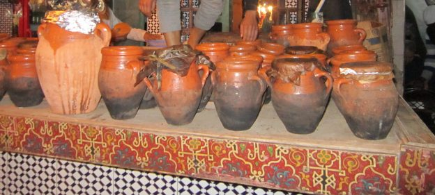 Tanjia Pots in Marrakech